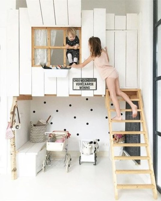 Cheap Space Saving Design Ideas For Kids Rooms 33