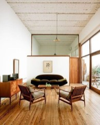 Elegant Midcentury Living Room Design Ideas28