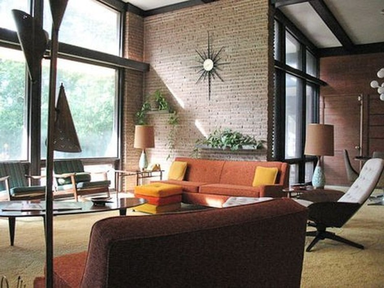 Elegant Midcentury Living Room Design Ideas42