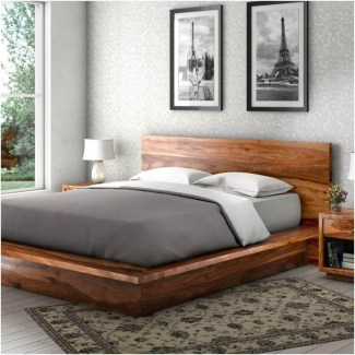 Elegant Platform Bed Design Ideas06