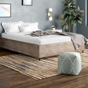 Elegant Platform Bed Design Ideas09
