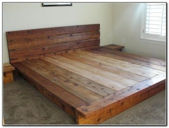 Elegant Platform Bed Design Ideas11