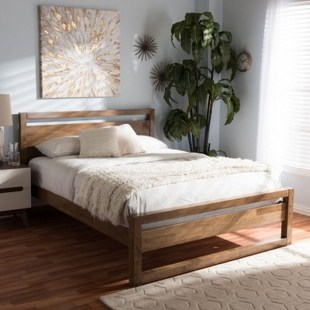 Elegant Platform Bed Design Ideas17
