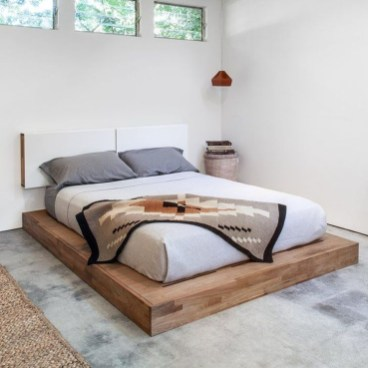 Elegant Platform Bed Design Ideas20