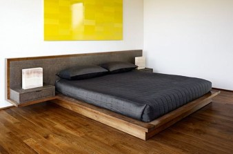 Elegant Platform Bed Design Ideas38