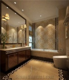 Catchy Bathroom Mosaics Design Ideas 16