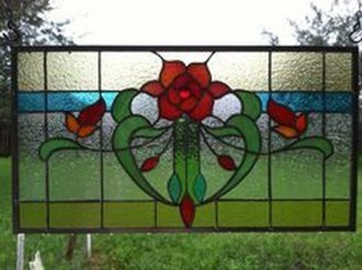 Comfy Stained Glass Window Design Ideas For Home 25