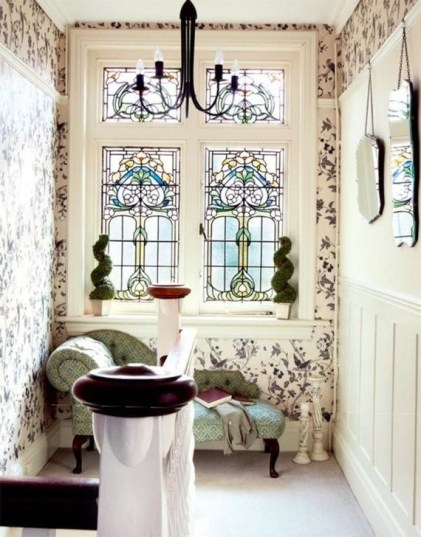 Comfy Stained Glass Window Design Ideas For Home 36