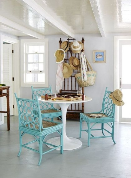 Enchanting Turquoise Living Room Ideas 31