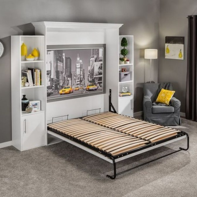 Fantastic Diy Murphy Bed Ideas For Small Space 24