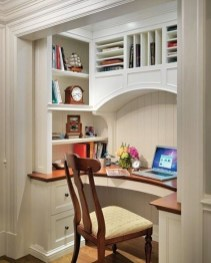 Minimalist Small Space Ideas For Bedroom And Home Office 11
