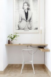 Minimalist Small Space Ideas For Bedroom And Home Office 20