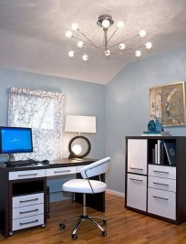 Minimalist Small Space Ideas For Bedroom And Home Office 21