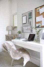 Minimalist Small Space Ideas For Bedroom And Home Office 22