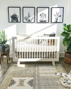 Modern Baby Room Themes Design Ideas 27