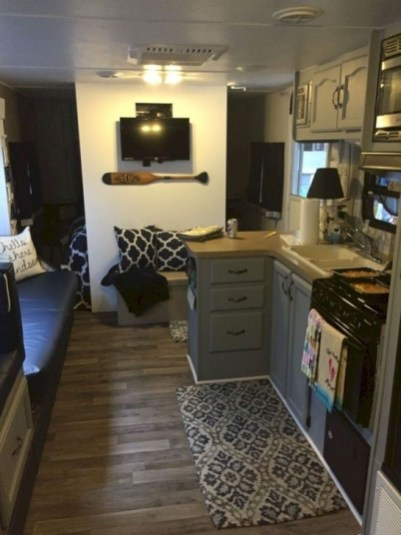 Splendid Rv Camper Remodel Ideas 06