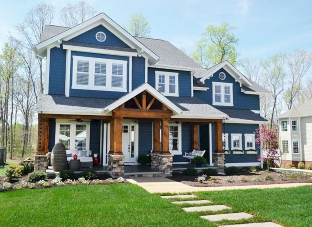 Extraordinary Home Exterior Color Ideas For Your Inspiration 03
