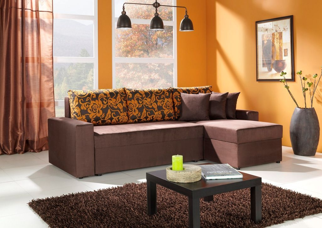 99 Relaxing Living Room Design Ideas With Orange Color ...