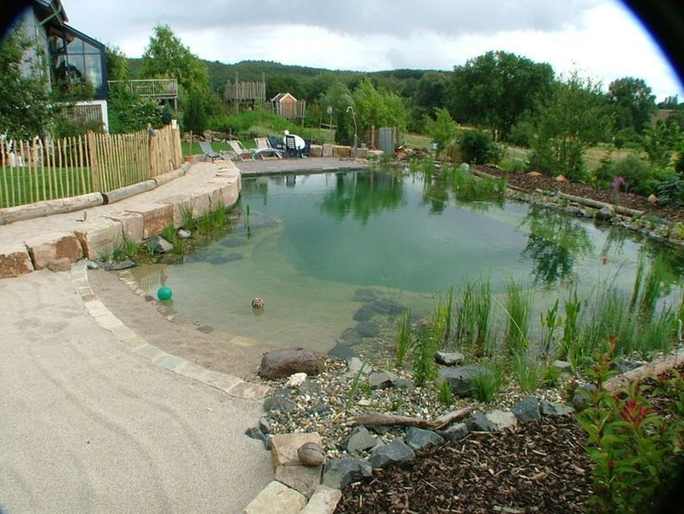 Comfy Backyard Designs Ideas With Swimming Pool Looks Cool 19
