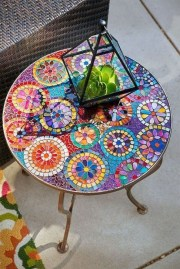 Enchanting Diy Mosaic Craft Ideas To Beautify Your Home Decoration 17