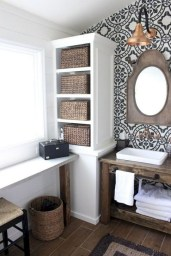 Lovely Farmhouse Bathroom Makeover Ideas To Try Right Now 12