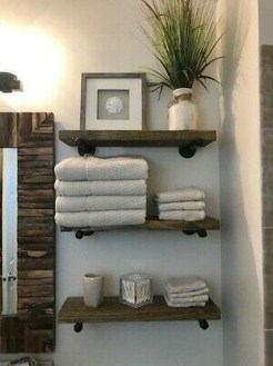 Lovely Farmhouse Bathroom Makeover Ideas To Try Right Now 43