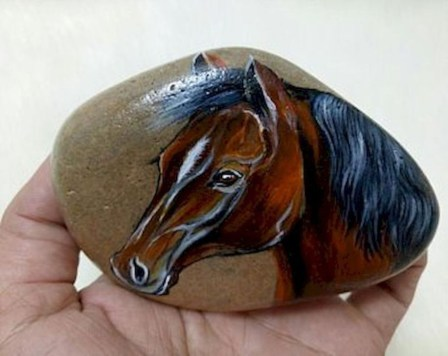 Marvelous Diy Projects Painted Rocks Animals Horse Ideas For Summer 38