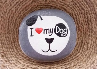 Splendid Diy Projects Painted Rocks Animals Dogs Ideas For Summer 38
