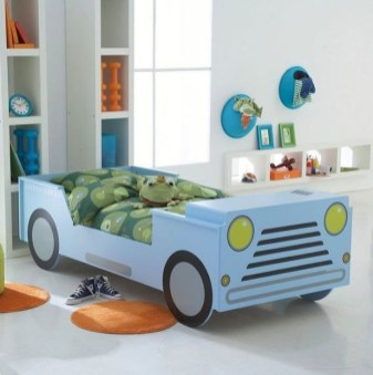 Astonishing Car Bed Designs Ideas That Every Kids Must See 05