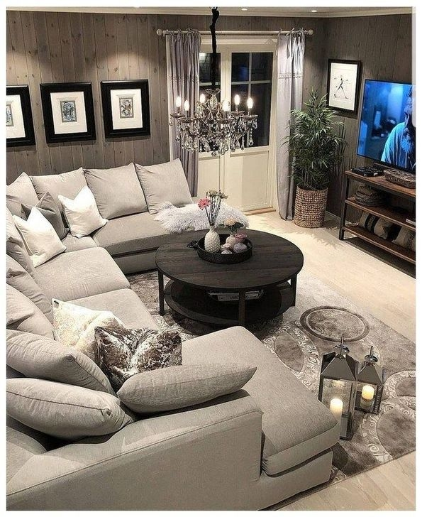 Fascinating Farmhouse Living Room Decor Ideas For You 19
