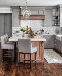 Classy Farmhouse Kitchen Cabinets Design Ideas To Copy 12