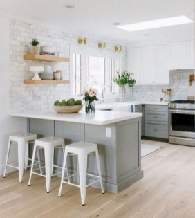 Classy Farmhouse Kitchen Cabinets Design Ideas To Copy 29
