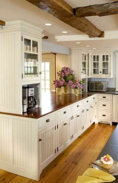 Classy Farmhouse Kitchen Cabinets Design Ideas To Copy 42