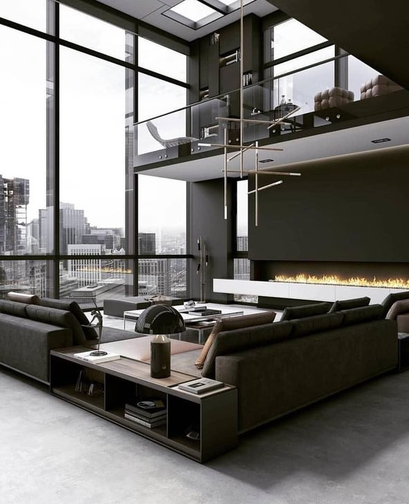 Rustic Penthouse Apartment Design Ideas For You 18