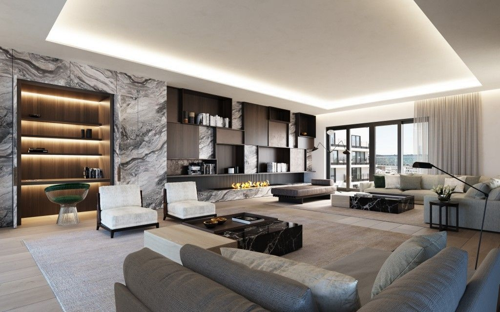 Rustic Penthouse Apartment Design Ideas For You 33