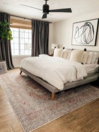 Trendy Farmhouse Master Bedroom Design Ideas 11