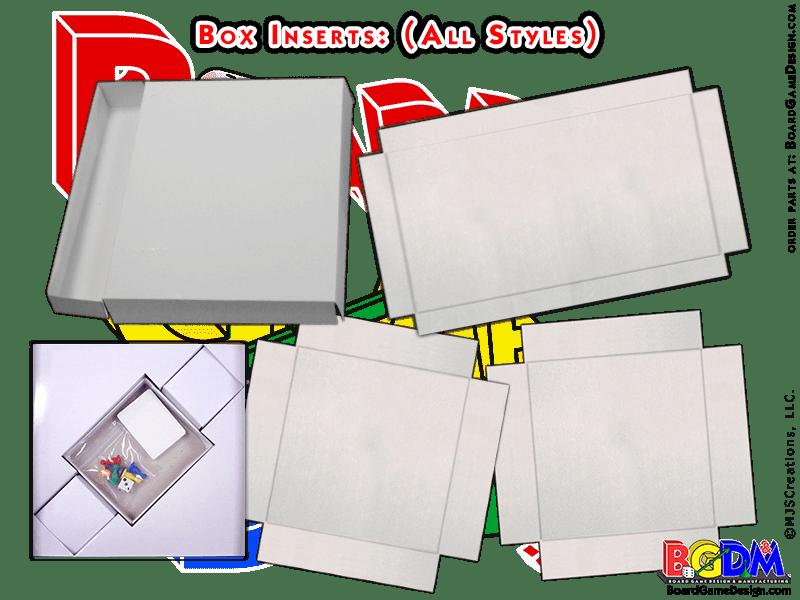 Box Inserts (All Styles)