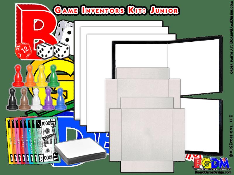 Game Inventors Kit (Junior) Game Starter kit.