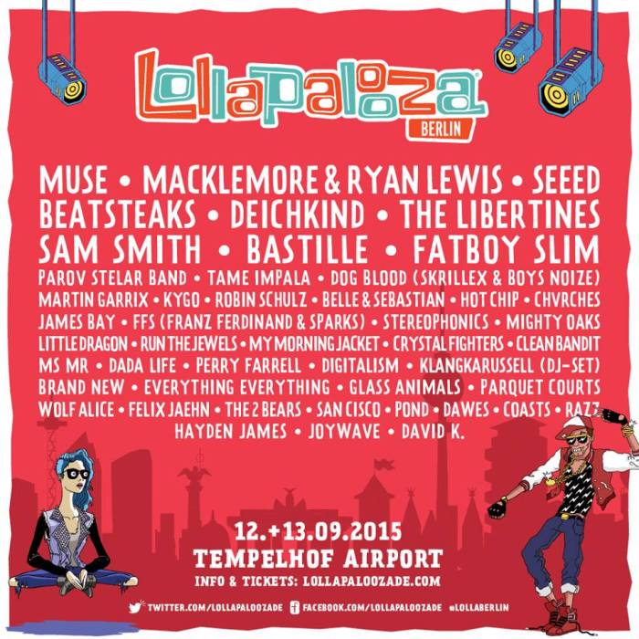 Lollapalooza Berlin 2015 strikt Muse