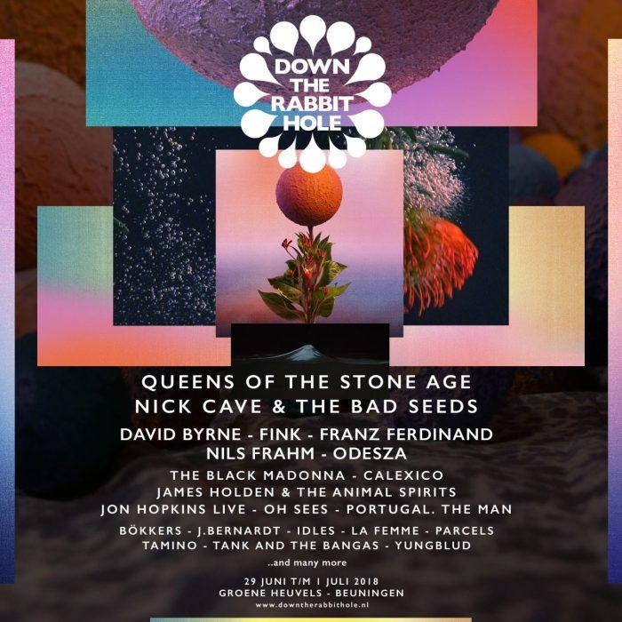 Nick Cave, Queens of the Stone Age en meer naar Down The Rabbit Hole