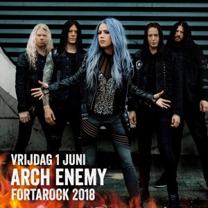 Arch Enemy en Vier nieuwe namen voor Fortarock