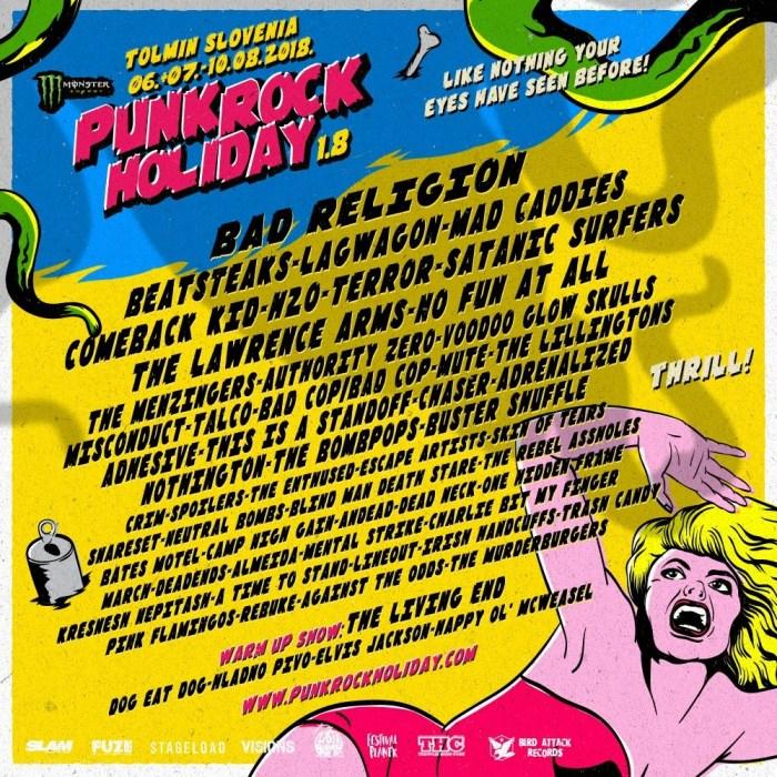 Punk Rock Holiday 2018