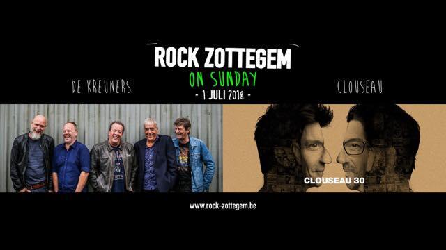 Rock Zottegem Clouseau & De Kreuners