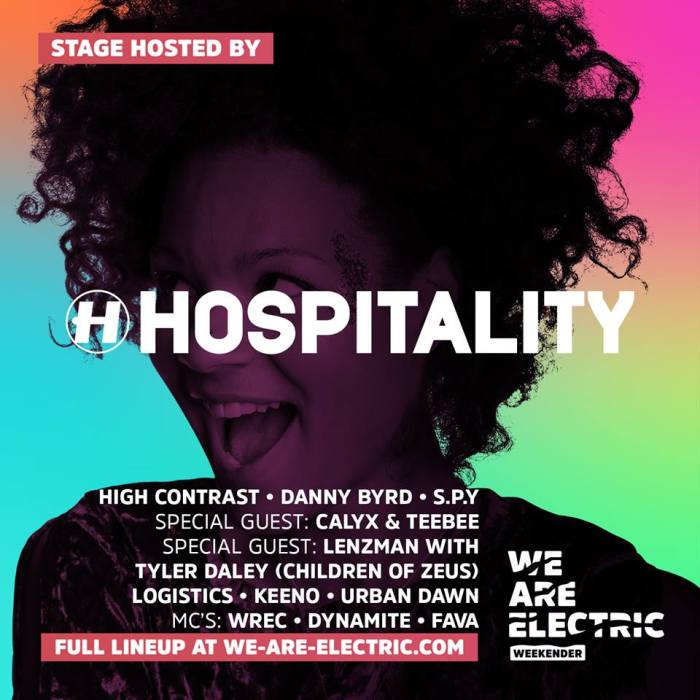 We Are Electric Weekender 2018 Hospitality