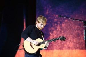 Ed Sheeran naar Sziget