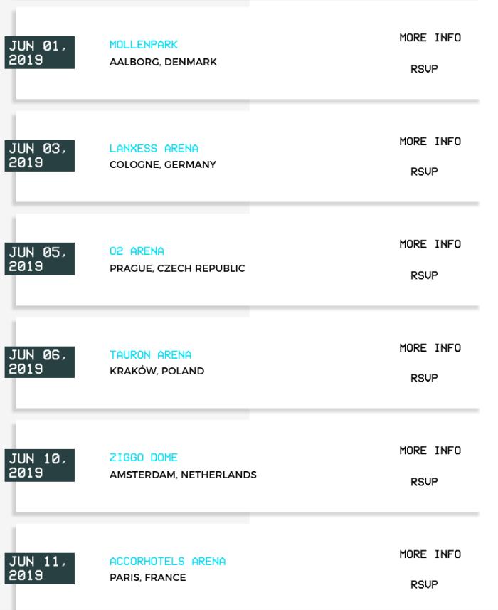 Maroon 5 kondigt Europese zomertour aan