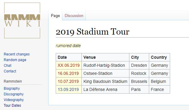 Rammstein in juli naar Brussel?