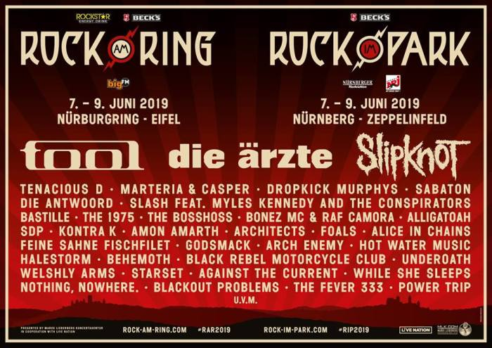 Rock am Ring & Rock im Park met Tenacious D