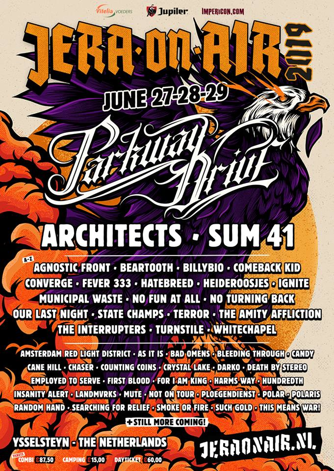 Jera on Air 2019 Parkway Drive