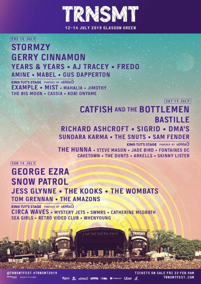 TRNSMT Festival bevestigt Stormzy, Snow Patrol en meer